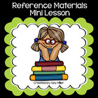 Free Reference Sources Mini Lesson