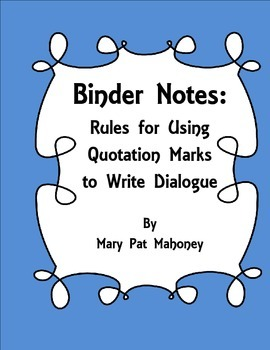 Free!  Rules for Writing Dialogue