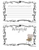 Free Sample Pages My First Grade Memory Book