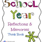 Free Sample of School Year Reflections & Memories Think Book