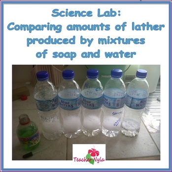 Free Science Lab - Comparing Lather of Different Mixtures