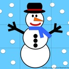Free Snowman Puzzle with Song  - Spanish