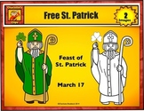 Free St. Patrick Clip Art - Featuring Saint Patrick by Cha