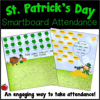 Free St. Patrick's Day Attendance for the Smartboard