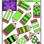 {Free} St. Patrick's Day Pencils Clipart