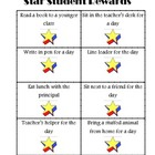 Free Star Student Rewards