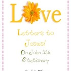 Free Stationery  with John 3:16- ABC&#039;s of salvation lesson!