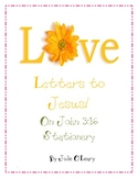 Free Stationery  with John 3:16- ABC's of salvation lesson!