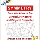 Free Symmetry Worksheets with Answer Keys