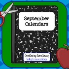 Free Teacher Calendar - September