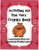 Free! The Very Cranky Bear Activities