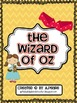 Free-  The Wizard of Oz Writing Templates and Bubble Maps