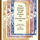 Free Vintage Style Frames for Personal and Educational Use