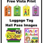Free Vistaprint Hall Pass Images