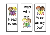 Free stick kids home reading bookmarks