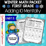 Freebie - Adding 10 Mentally Worksheets ~ 1.NBT.5