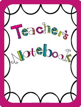 Freebie Back to School Binders Sample