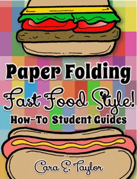 Freebie:  Paper Folding, Fast Food Style