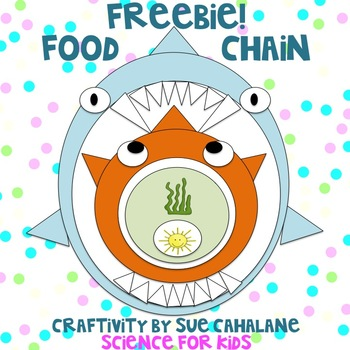 Freebie! Food Chain Craftivity