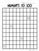 Freebie!! Numbers to 100 Grids