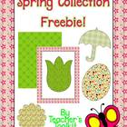 {Freebie} Spring Collection Clip Art Commercial Use OK