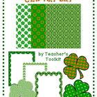 {Freebie!}  St. Patrick's Day Clip Art Set Commerical Use OK