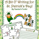 {Freebie!} St. Patrick&#039;s Day Writing