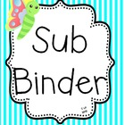 (Freebie) Sub Binder With Portable Transportation List