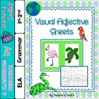 {Freebie} Visual Adjective Sheets