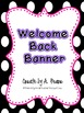 Freebie-  Welcome Back Banner