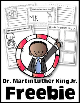 Freebie to Celebrate Dr. Martin Luther King Jr. Day