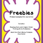 Math and Reading Freebies (Grades 1 - 3)  Amy Padgett Crea