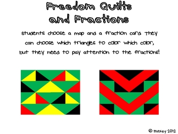 Freedom Quilt Fraction Templates