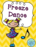 Freeze Dance {FREEBIE}