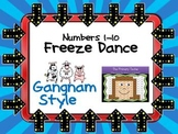 Freeze Dance Numbers 1-10  - Gangnam Style