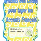 "French Accent Posters - Printable (8.5 x 14"")"