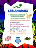 French Animals Activity Packet - Perfect for Substitute Activity