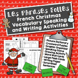 French Christmas Speaking and Writing Activities