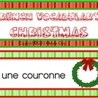 French Christmas Vocabulary Word Wall Words / des mots de Nol