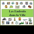 French City Location Vocabulary Powerpoint (Activities and Games)