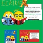 French Écrire pour lire 2: Literacy Center Printables, Sma