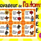 French Games for Learning *FREEBIE* ~ Voyageur de l'automne