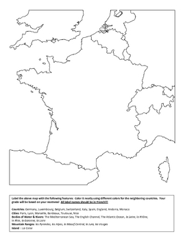 French Geography Unit