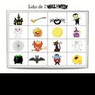 French Halloween Bingo (Loto)