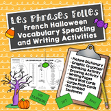 French Halloween Speaking and Writing Activities