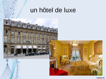 French - Hotel vocabulary