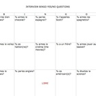 French Interview Bingo Yes/No Questions