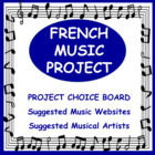 French Music Project - Outline