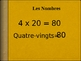 French Numbers 1-100 Powerpoint