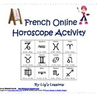 French Online Horoscope Activity